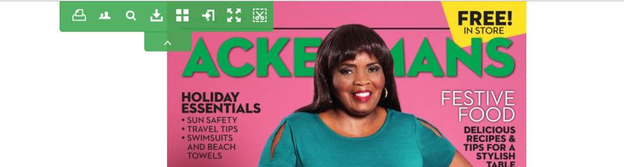 November Ackermans magazine