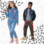 Dani and Nixie, winners of the 2017 Style Squad Kids' Designer Range Competition