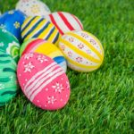 Easter egg hunt at home