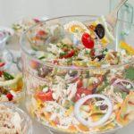 healthy and delicious salad